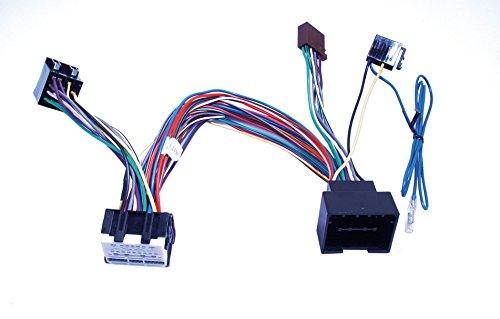 G.M. Production - BT-OPi - Cavo ISO Bluetooth passivo per PARROT o BUSY o simili su OPEL VAUXHALL ASTRA J INSIGNIA MOKKA ADAM MERIVA KARL Chevrolet CRUZE