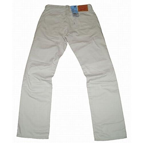 リーバイス Levis 502 クールマックス 502-0417 パンツ ホワイト メンズ COOLMAX ストレート (32)