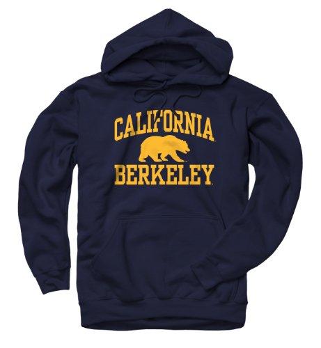 California-Berkeley Golden Bears Arch And Logo Hooded Sweatshirt (X-Large)
