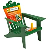 Belle Fleur 50116 Adirondack Chair Squirrel Feeder, Mint Green