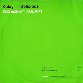 KULAY - Delicious - Promo 1 - 12 inch 45 rpm