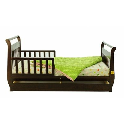 Learn More About Dream On Me Toddler Bed with Storage Drawer - Espresso