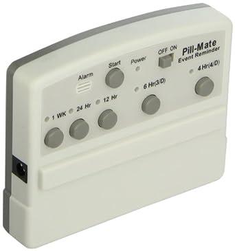"Osun PM0010 Pill Mate Event-Reminder, 15mA, 4-21/64"" Length x 51/64"" Width x 3-17/128"" Height"