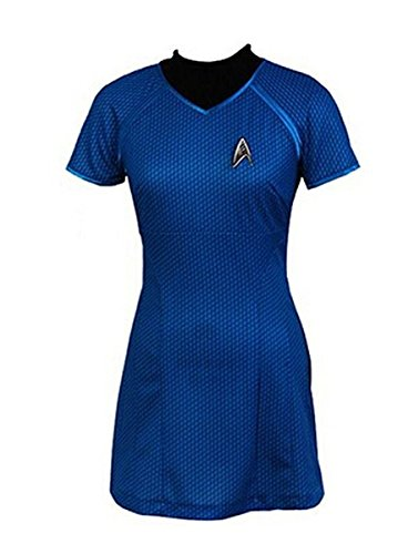 Cosparts® Into Darkness Marcus Blue Dress Cosplay Costume (US Size X-Large)