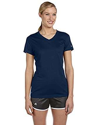 Russell Athletic Women's Dri-Power 360 V-Neck Tee at