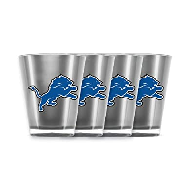 NFL Detroit Lions Shot Glass Set (4-Piece)