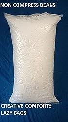 SUPER PREMIUM BEAN BAG FILLER REFILL FOR BEAN BAG EXPORT QUALITY 1:100 . 1 KG+100 grams