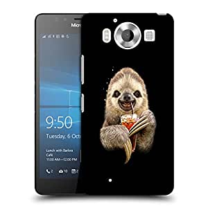 Snoogg Animal Drinking Coke Designer Protective Back Case Cover For NOKIA LUMIA 950