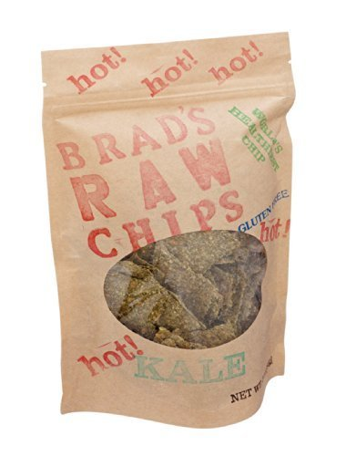 Hot Kale Chips 3 Ounces (Case of 12) by Brad's Raw