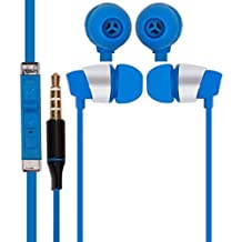 Micromax Bolt A58 COMPATIBLE Wired Headphone/Earphone/Stereo Headphone (Blue) with Super Sound 3.5MM Jack by JIYANSHI
