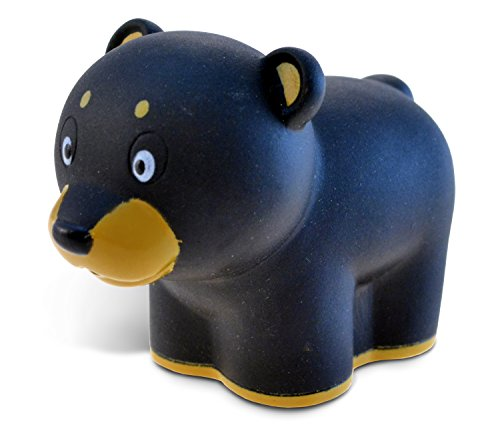Puzzled Bath Buddy Black Bear Water Squirter