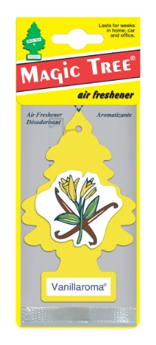 car freshener 50105 little tree air freshener vanilla interior accessories air fresheners. Black Bedroom Furniture Sets. Home Design Ideas