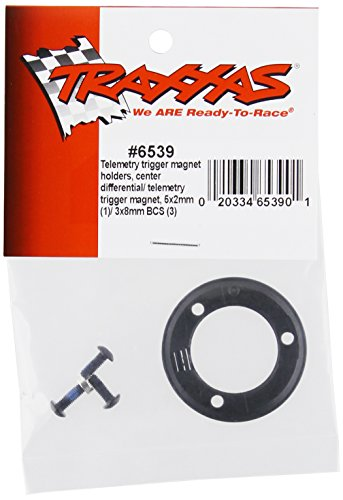 Traxxas 6539 Magnet Holder and Center Diff Magnet, 3 x 8mm/5 x 2mm BCS, Set of 1 - 1
