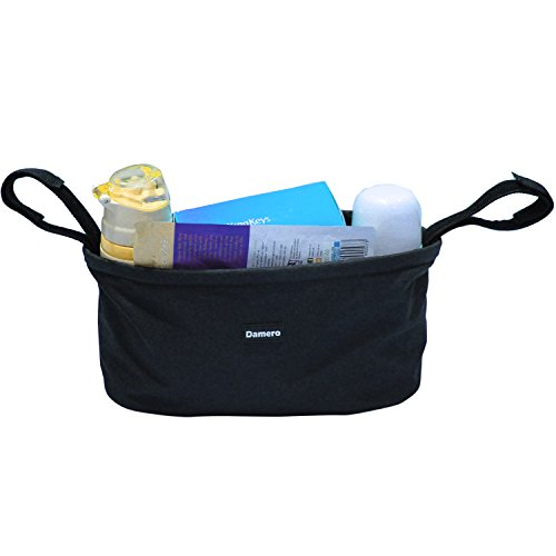 Damero Baby Travel Diaper Storage Bag Stroller Buggy Organizer (Black)