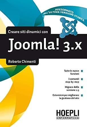 Amazon.com: Costruire siti dinamici con Joomla! 3.x (Italian Edition