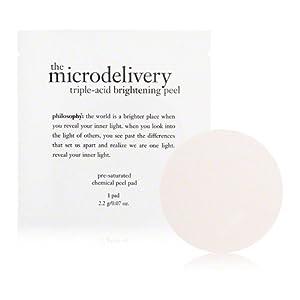 Philosophy Micro delivery Triple-Acid Peel Pads, 12-count