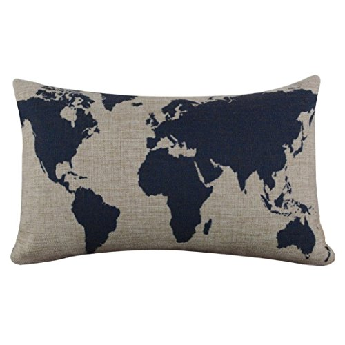 tenworld-burlap-linen-world-map-decorative-pillow-case-cushion-cover-20-x-12