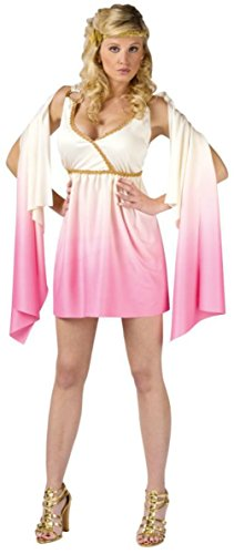Funworld Womens Sexy Venus Goddess Pink Ombre Theme Party Halloween Costume
