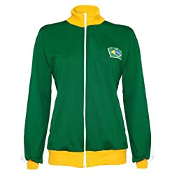 Jlsport Capoeira Berimbau Green Yellow Colors Jacket Brasil Tracksuit Jumper Man Long Sleeve