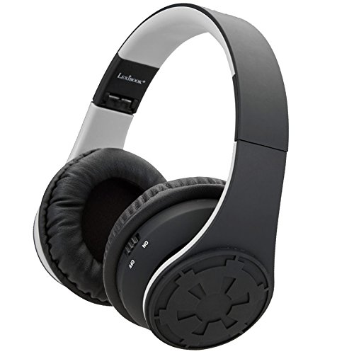 Lexibook BTHP400SW - Cuffie Bluetooth Star Wars, Nero