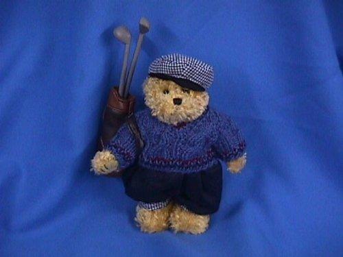 Teddy Bear Golfer Plush Toy