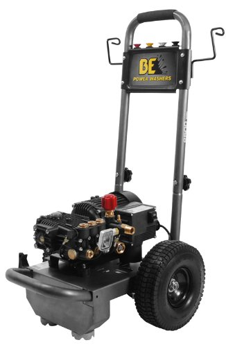B E Pressure B1515En Electric Powered Pressure Washer, 1500 Psi, 1.6 Gpm, 1.5 Hp