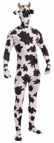 Forum Novelties Men's Disappearing Man Patterned Stretch Body Suit Costume