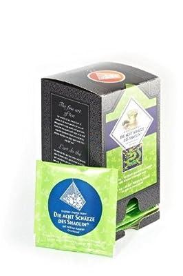 Die acht Schätze des Shaolin Grüntee im Pyramiden Teebeutel (15 Stück) von Florapharm GmbH auf Gewürze Shop
