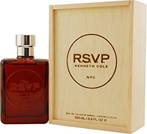 Kenneth Cole Rsvp By Kenneth Cole For Men, Eau De Toilette Spray, 3.4-Ounce Bottle