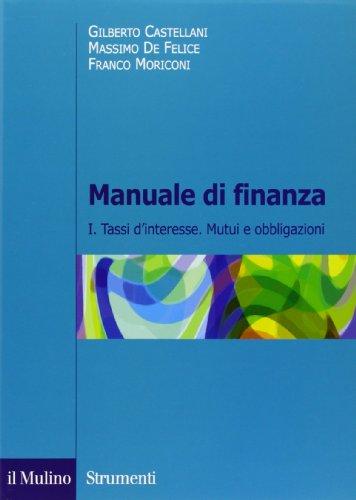 Manuale di finanza 1 PDF