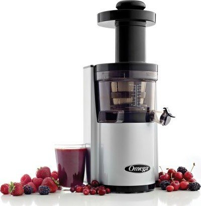 Check Out This Omega Vertical Juicing System Silver VSJ843RS