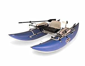 Bucks Bags High Adventure 9-foot Pontoon Package Blue