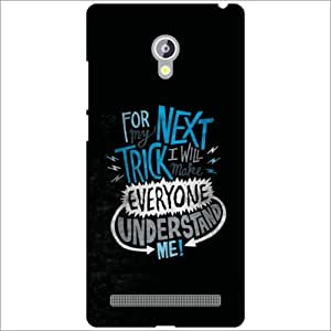Asus Zenfone 6 A601CG Back Cover - Next Truck Designer Cases