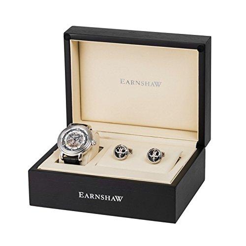 ¡Descuentazo de Navidad! Reloj de caballero automático con caja de regalo Thomas Earnshaw Longcase