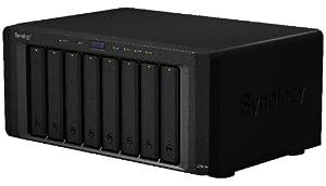 Synology DiskStation DS1813+ NAS-System bis 48TB (Dual Core 2,13GHz, 2GB DDR3 RAM, 2x USB3.0, 4x USB2.0, 2x eSATA)