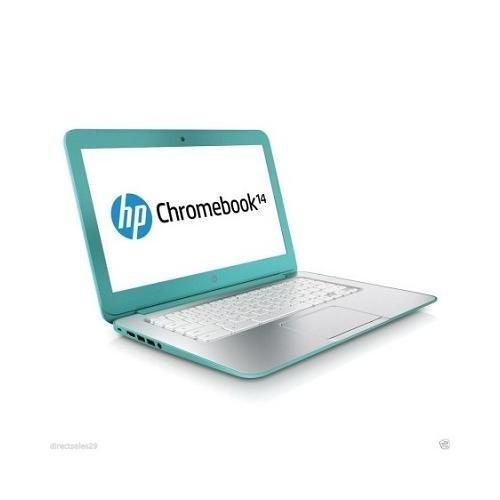 HP 14-Q039wm Celeron 2955 1.4GHz 4 GB 16 GB SSD, Turquoise (Certified Refurbished)