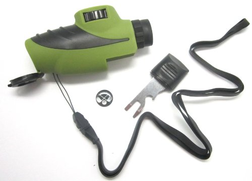 Delk 41042 Golf Tool With Rangefinder, Green