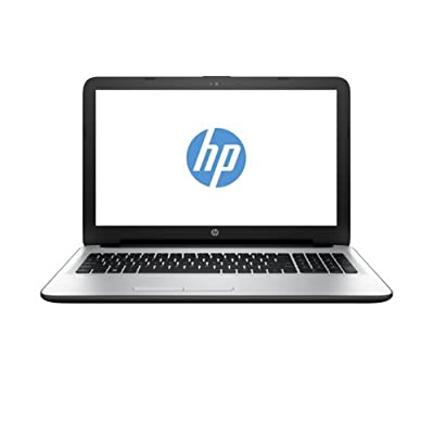 HP 15-ac124TX 15.6-inch Laptop (core_i5_5200u/4GB/1TB/AMD Radeon R5 Series M330), White Silver Colour with Diamond...