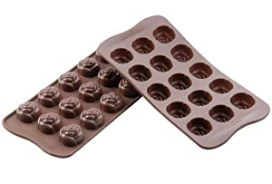 Silikomart Silicone Chocolate Rose Mold