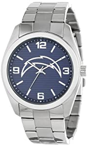 Game Time Unisex NFL-ELI-SD Elite San Diego Chargers 3-Hand Analog Watch by Game Time