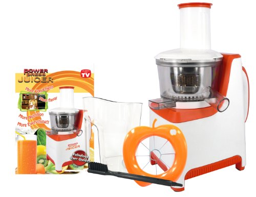 Slow Press Juicer Reviews : Power Press Heavy Duty Masticating Slow Juicer Product Review. Watch and compare prices.