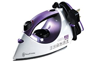 Russell Hobbs 17877 EasyFill Iron - White and Purple