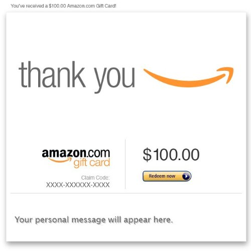 Amazon Gift Card - Email - Thank You (Smile)