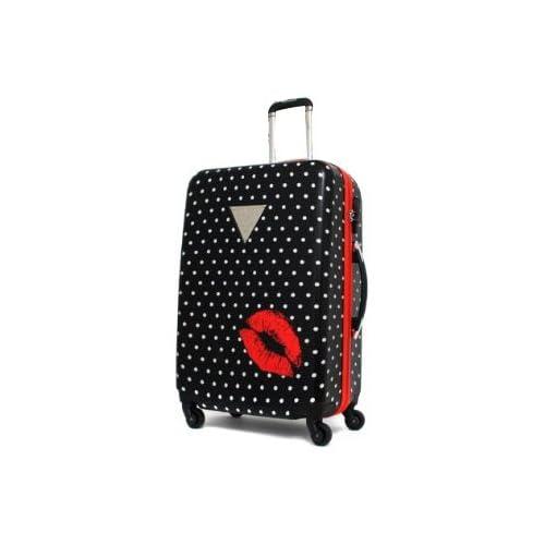 (ゲス)GUESS スーツケース Polka Dot Kiss GPZ1-52 52cmブラック