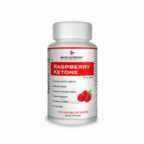 British Nutritions Wellness Range Raspberry Ketones - 60 Capsules