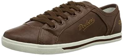 Dockers 346060-030636, Chaussures de basketball femme - Marron (Brown), 36 EU