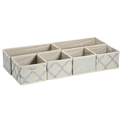 Ollieroo Non-woven Foldable Storage Drawer Closet Dresser Organizer Bins 6 Pieces Set (Foldable Drawer Storage Unit compare prices)