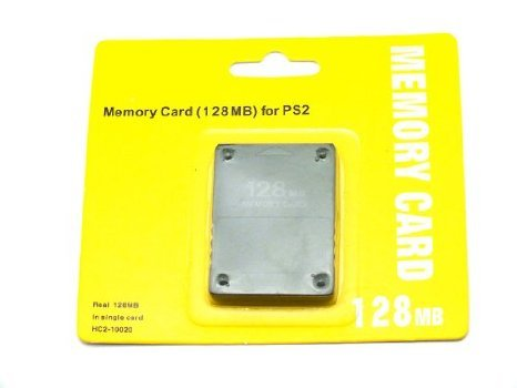 PS2 Memory Card 128MB for Playstation 2