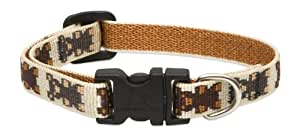 Lupine 1/2-Inch Teddy Bears Adjustable Dog Collar for Small Dogs, 8 to 12-Inch