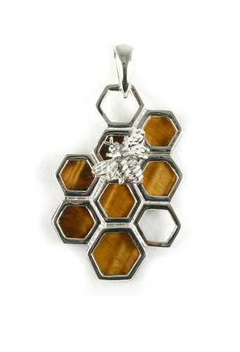 Awesome! Natural Tiger's eye 925 Sterling Silver Pendant Charm Jewelry - Black Friday Promo - Cyber Monday